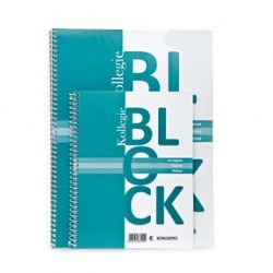 Kollegieblock A5 Linjerat 70g/70blad 10-pack