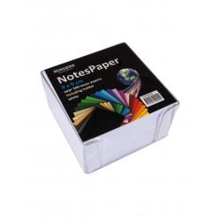 Notisbox 90x90 mm 500 ark vit 10-pack