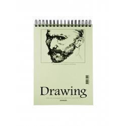 Teckningsblock A4 135g 40 blad 10-pack