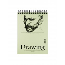 Teckningsblock A5 135g 40 blad 10-pack