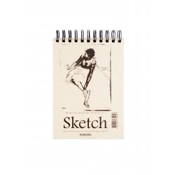 Skissblock A4 110g 70 blad 10-pack