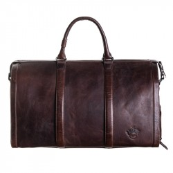 Sportbag Palma med skofack brun
