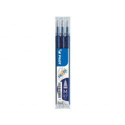 Frixion patron 3-pack 0,7 blå svart