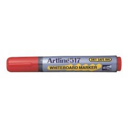 Whiteboardpenna Artline 517 röd 12-pack