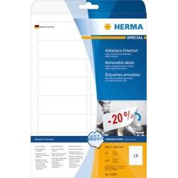 Herma etikett avtagbar 88,9x33x8 (400)