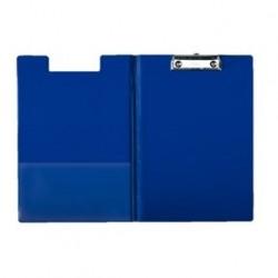 Skrivplatta med omslag A4 blå