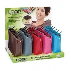 Läsglasögon LOOP i display 30-pack