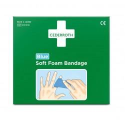 Cederroth Soft Foam Bandage Blue 6cmx4,5m