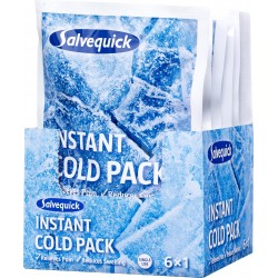 Salvequick instant cold pack 6-pack