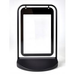 Gatuställ Swingersign 50x70 svart