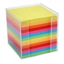 Block kub/Hållare kulört