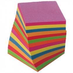 Block kub 9x9x9 Limmad kulört