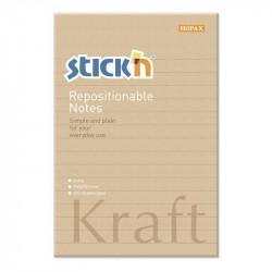 Kraftblock 150x101, linjerat 100b