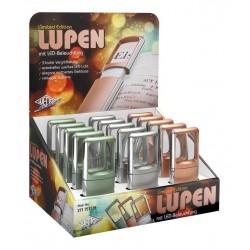 Wedo förstoringsglas LED limited edition 15-pack