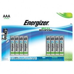 Batteri Energizer ECO Advanced AAA/LR3 (8-pack)