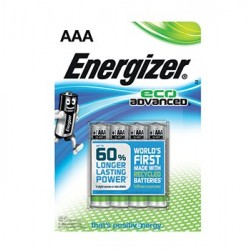 Batteri Energizer Eco Advanced AAA/LR3 (4-pack)