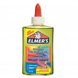 Genomskinligt slime grön Elmers 147 ml 3-pack