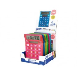 Bordsräknare Milan Look touch mix 6-pack i display