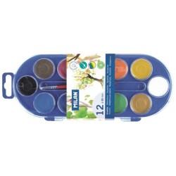 Vattenfärg med 12 färger 6-pack