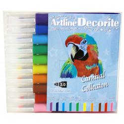 Fiberpennan Artline Decorite Rak Carnival 10/fp