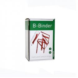 B-binder 70 mm 100 st, Röd