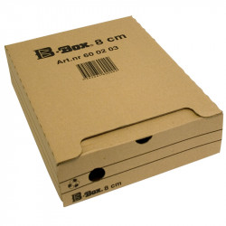 Arkivbox B-Box 8 cm, Brun