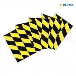 Herma etikett Golvmärkning svart/gul (5)