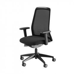 Kontorsstol EVERYis1 - i svart mesh eller tyg
